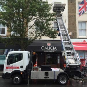 Furniture Hoist Hire London - Difficult access deliveries
